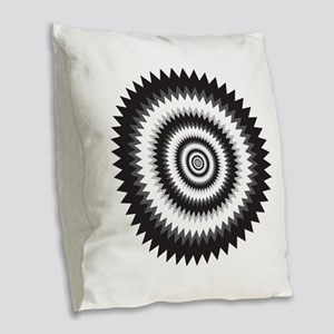 Psychedelics #9 Cancer Burlap Throw Pillow