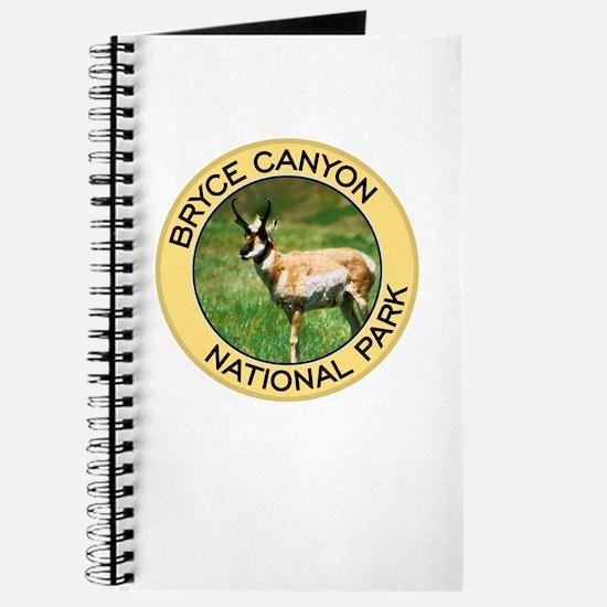 Bryce Canyon NP (Pronghorn Antelope) Journal
