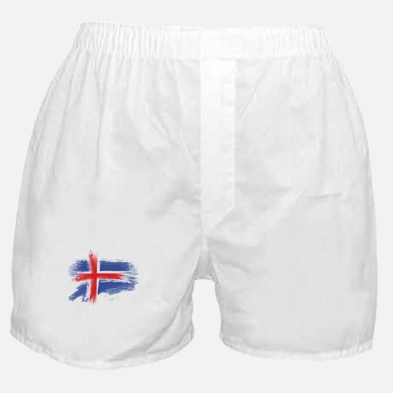 Iceland flag Boxer Shorts