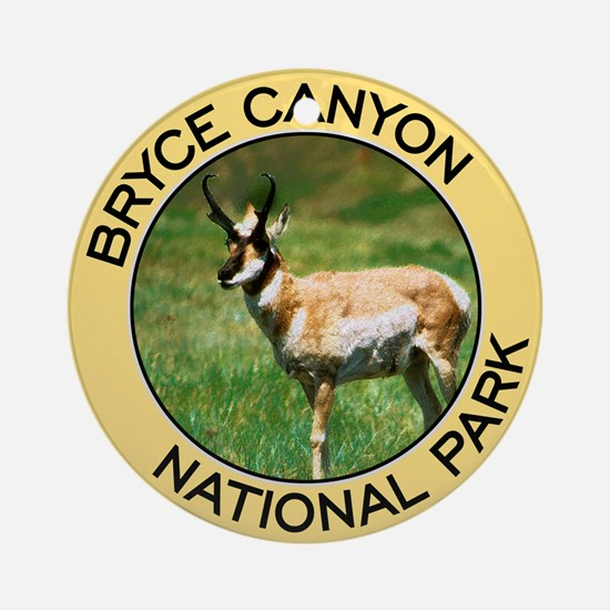 Bryce Canyon NP (Pronghorn Antelope) Ornament (Rou