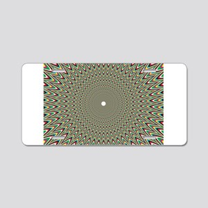 Psychedelics #2 Moving Pict Aluminum License Plate