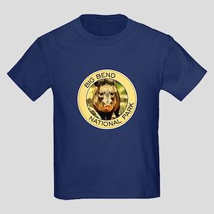 Big Bend NP (Javelina) Kids Dark T-Shirt