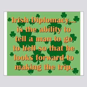 Irish Diplomacy Small Poster