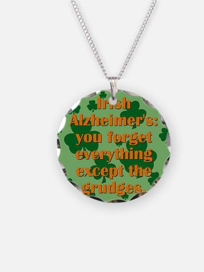 Irish Alzheimers Necklace