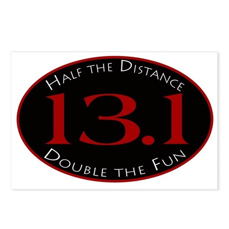 13.1 - Half the Distance Postcards (Package of 8)