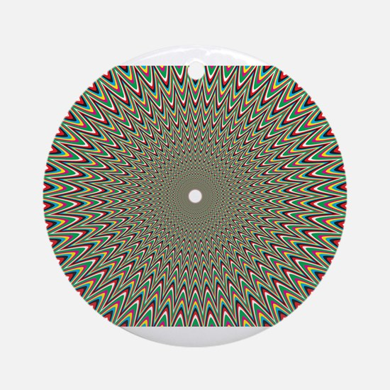 Psychedelics #2 Moving Picture Round Ornament
