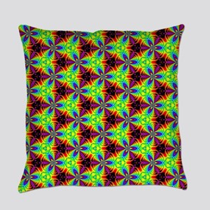 Psychedelics #8 radioactive Everyday Pillow