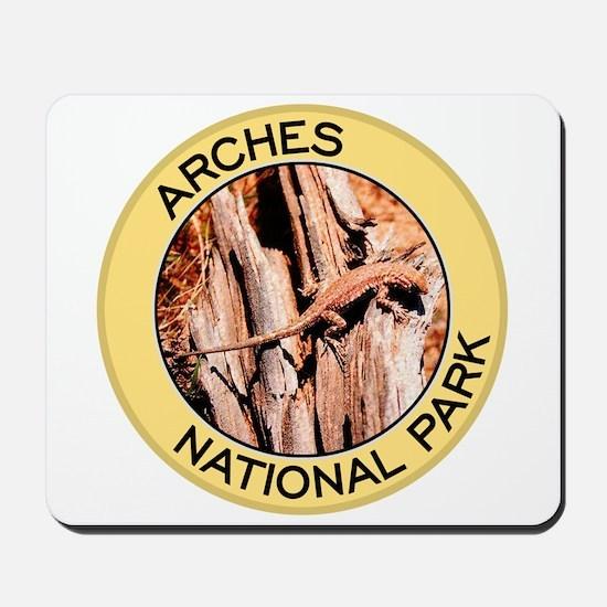 Arches NP (Collard Lizard) Mousepad