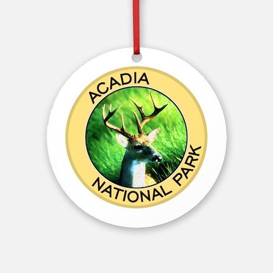 Acadia NP (Deer) Ornament (Round)