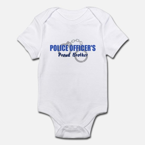 Proud Police Brother Infant Bodysuit
