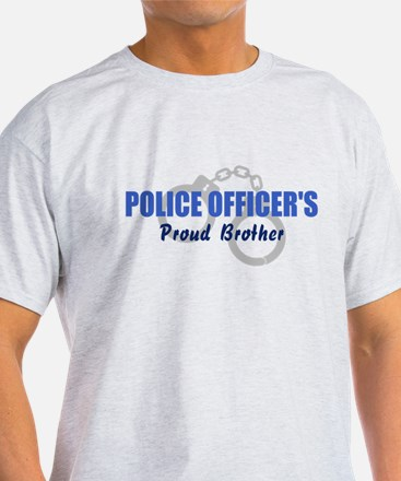 Proud Police Brother T-Shirt