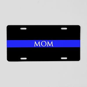 Police Mom Aluminum License Plate