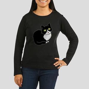 Tuxedo Cat Tuxie Long Sleeve T-Shirt