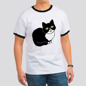 Tuxedo Cat Tuxie T-Shirt