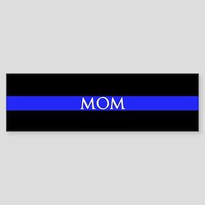 Police Mom Bumper Sticker