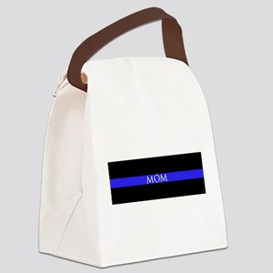 Police Mom Canvas Lunch Bag