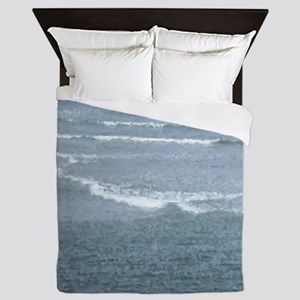 Ogunquit Waves Queen Duvet