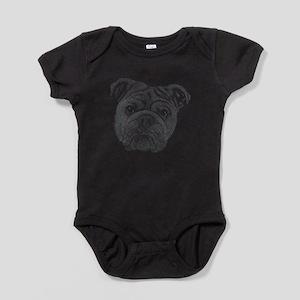 Bulldog Baby Bodysuit