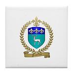 FUSELIER Family Crest Tile Coaster