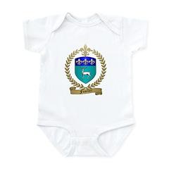 FUSELIER Family Crest Infant Bodysuit