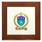 FUSELIER Family Crest Framed Tile