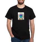 FUSELIER Family Crest Dark T-Shirt