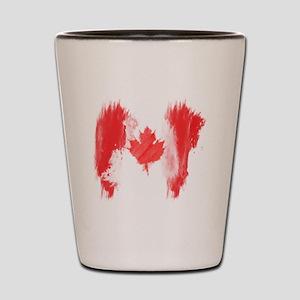 Canada Flag Canadian Shot Glass