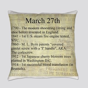 March 27th Everyday Pillow