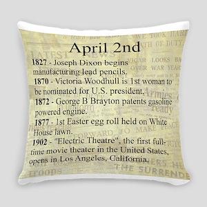 April 2nd Everyday Pillow