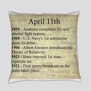April 11th Everyday Pillow