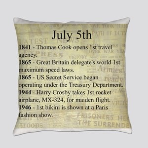 July 5th Everyday Pillow