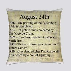 August 24th Everyday Pillow