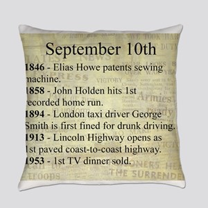 September 10th Everyday Pillow