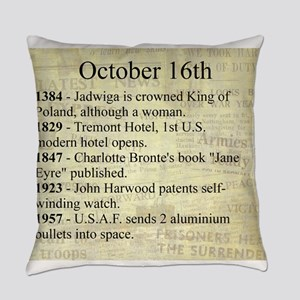 October 16th Everyday Pillow