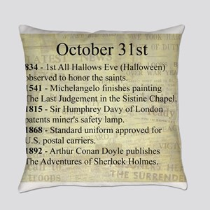 October 31st Everyday Pillow