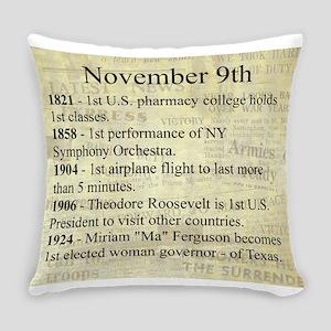 November 9th Everyday Pillow