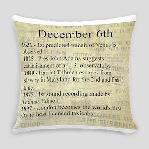 December 6th Everyday Pillow
