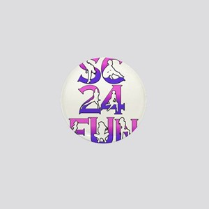 SC24FUN LOGO ROWS DARK copy Mini Button