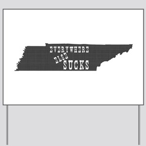 Tennessee State Yard Sign