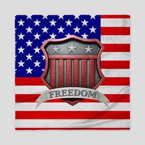 USA Shield Queen Duvet