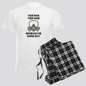 Diaper Duty Funny Personalized Pajamas