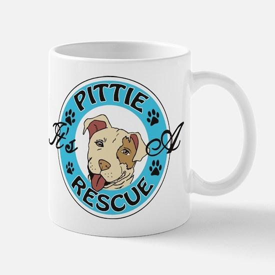 It's A Pittie Rescue Mugs