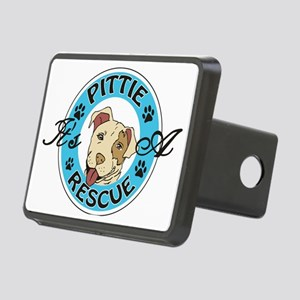 It's A Pittie Rescue Rectangular Hitch Cover