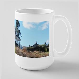 Marginal Way House And Pine Mugs