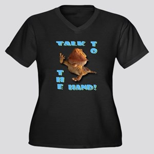 Bearded Dragon - Talk To The  Women's Plus Size V-