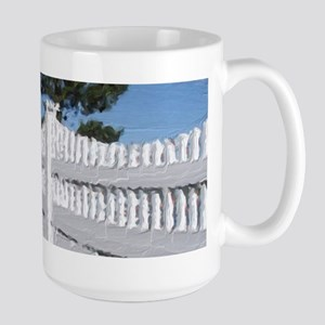 Marginal Way Garden Fence Mugs