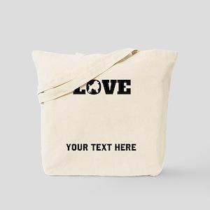 Poodle Love (Custom) Tote Bag