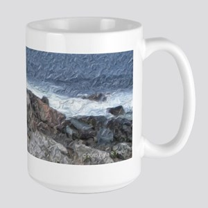 Marginal Way Rocks And Waves Mugs