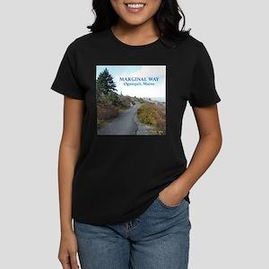 Ogunquit Marginal Way Women's Dark T-Shirt