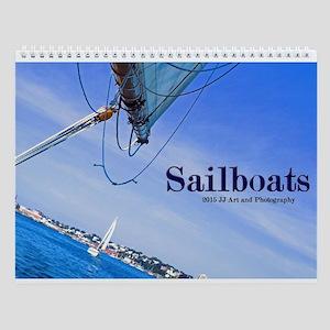 Images Of Sailboats Wall Calendar